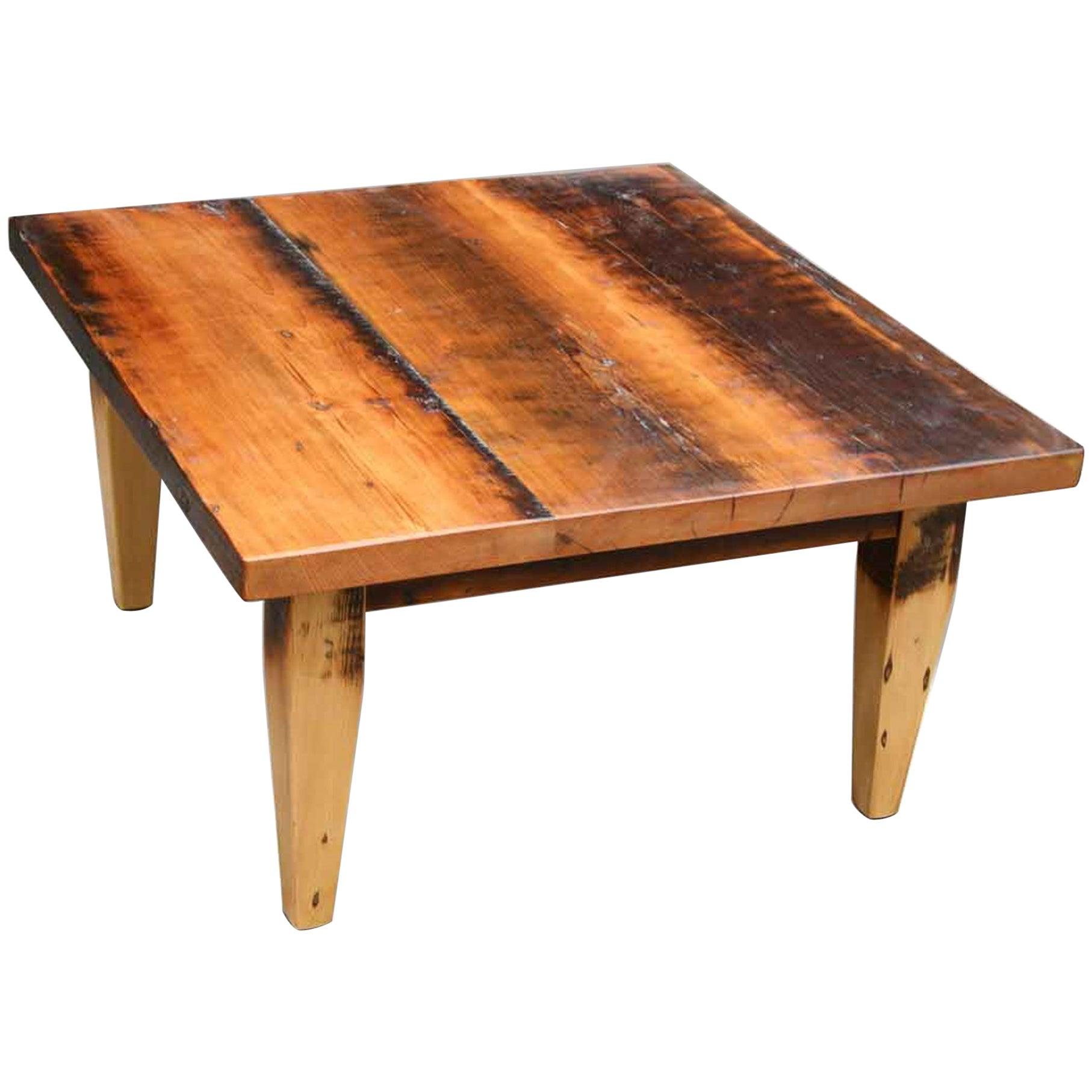 Customizable Rustic Farm Style Coffee Table