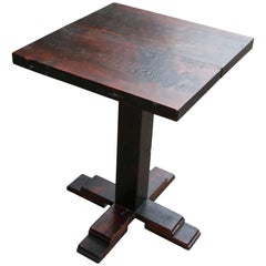 Customizable Handcrafted Wooden Bistro Table