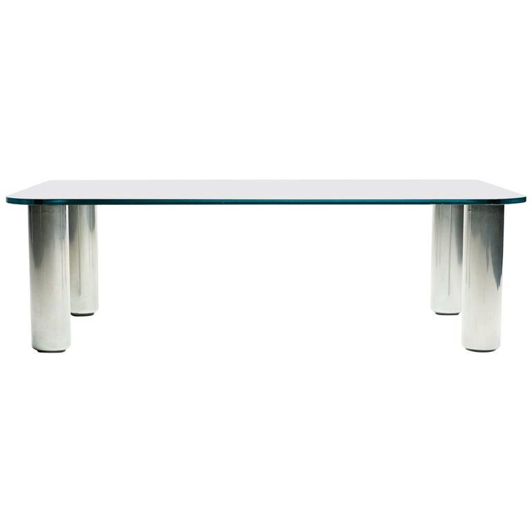 """""""Marcuso"""" Coffee Table by Marco Zanuso for Zanotta"""