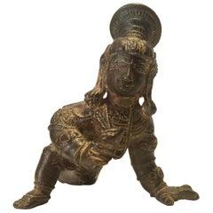 Bala Krishna Bronze India 19th Century/Earlier