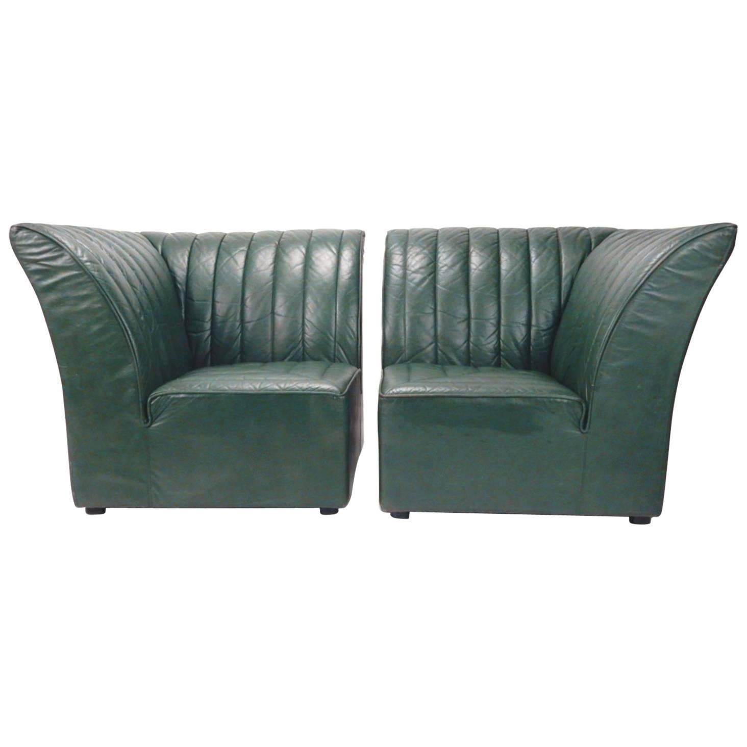 Guido Faleschini for Pace Collection by i4 Mariani Italy Club Settee Chairs For Sale  sc 1 st  1stDibs & Guido Faleschini for Pace Collection by i4 Mariani Italy Club Settee ...