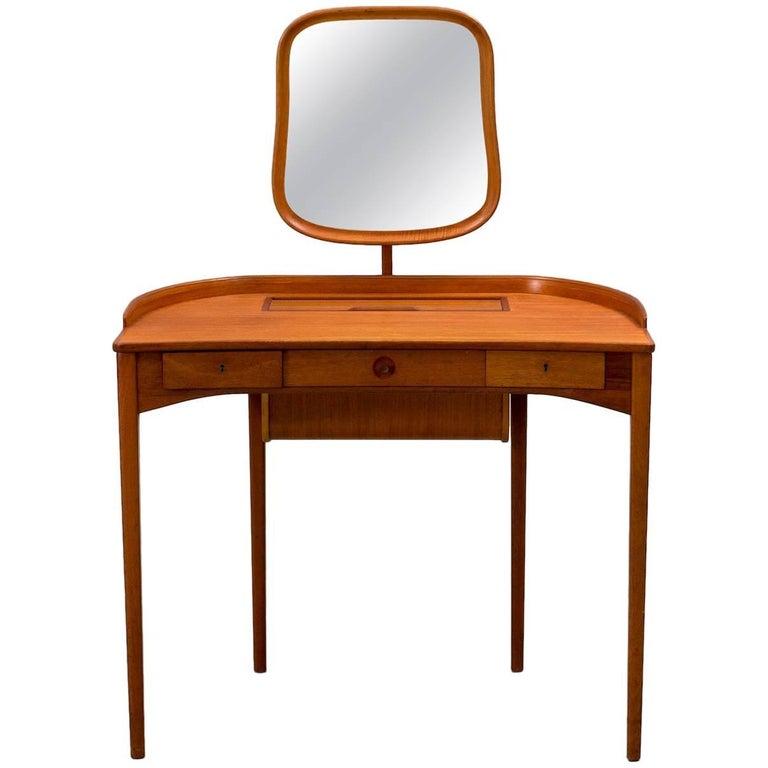 Carl Malmsten Brigitta Vanity Table, Sweden, 1964 1