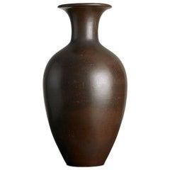 Gunnar Nylund Stoneware Vase, Sweden, 1950s