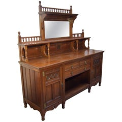Gillows Aesthetic Sideboard Attributed to Bruce Talbert