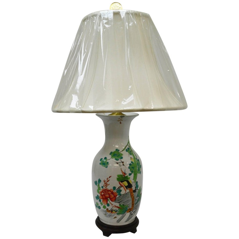 Vase Roseaux Table Lamp For Sale At 1stdibs