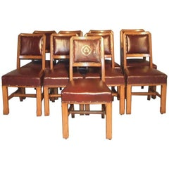 Pugin House of Commons Style Dining Chairs