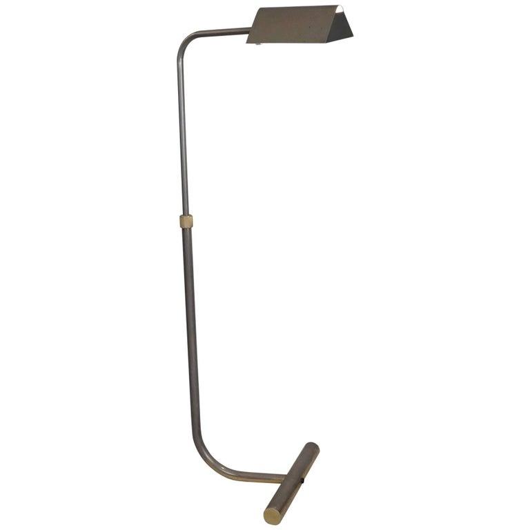 1970 Adjustable Brass Reading Lamp