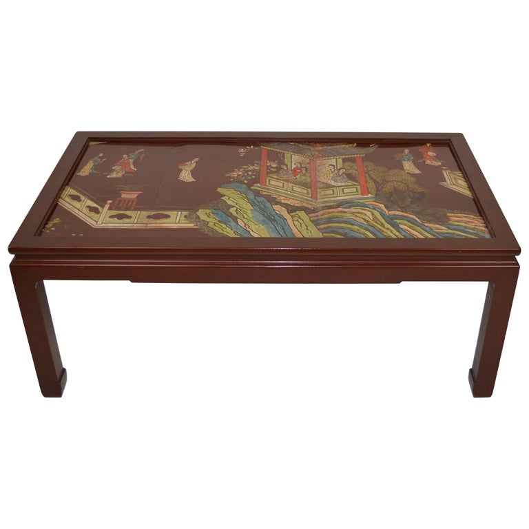 Chinese Coromandel Panel Coffee Table