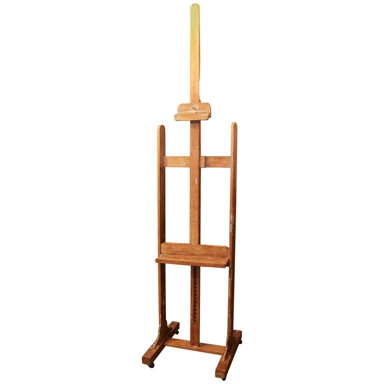 French Painter's Studio Easel, Circa 1940