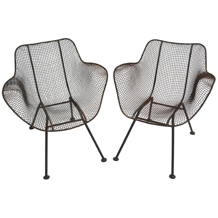 Pair of Russell Woodard Sculptura Chairs