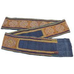 Vintage Indonesian Handwoven Tent Belt