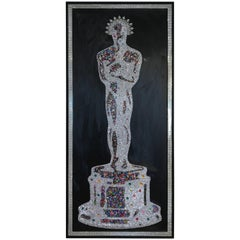 Mauro Oliveira Masterpiece Oscar with over 10,000 Swarovski and Czech Crystals