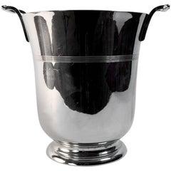 Art Deco Chrome Champagne Ice Bucket by Farberware