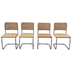 Marcel Breuer Cane Cesca Chairs, Italy