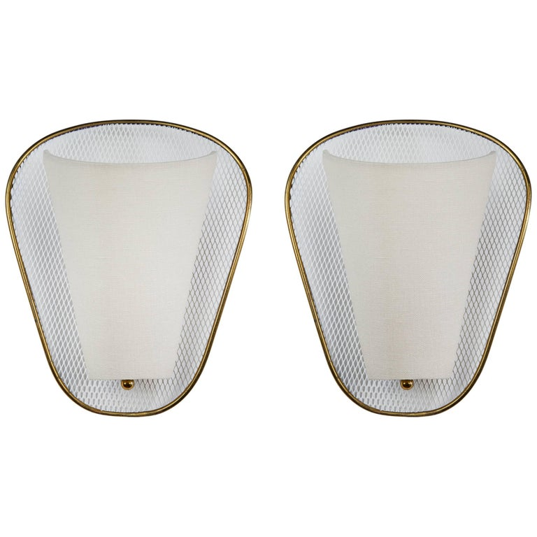 Pair of Sconces by Lunel