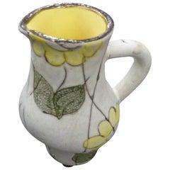 Alain Maunier Beautiful Vallauris Ceramic Pitcher, circa 1960