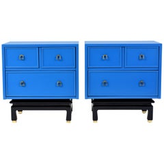 Pair of American of Martinsville Chest of Drawers
