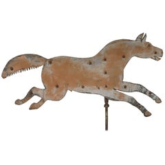 Running Horse Sheet Metal Weathervane