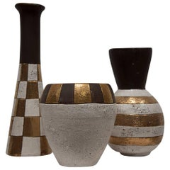 JARU POTTERY Vases - [Set of 3]