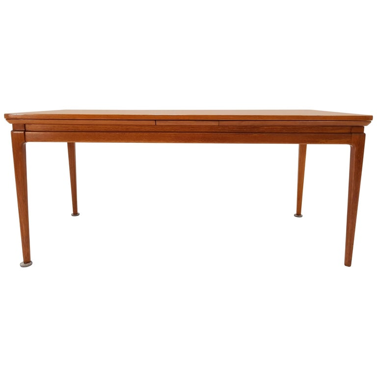1960s Johannes Andersen Silkeborg Extending Coffee Table For Sale At 1stdibs