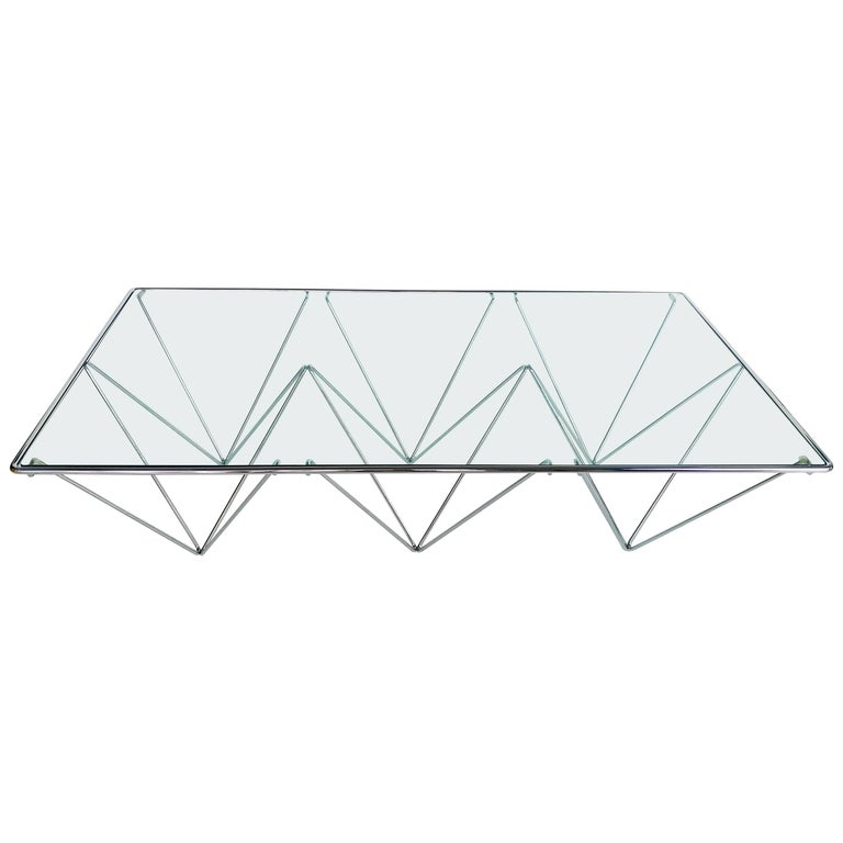 Paolo Piva Attributed Coffee Table for B&B Italia For Sale