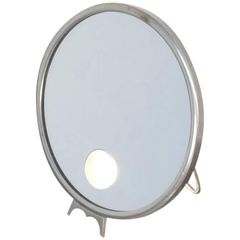 Illuminated standing mirror le mirophar by brot miroir for Miroir brot paris