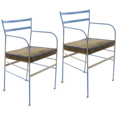 Pair of Paul Maremma Chairs by Sotow, Made in Italy