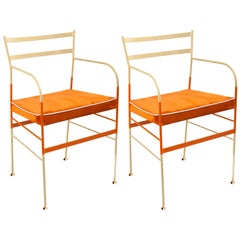 Pair of Paul Mandarino Chairs by Sotow, Made in Italy