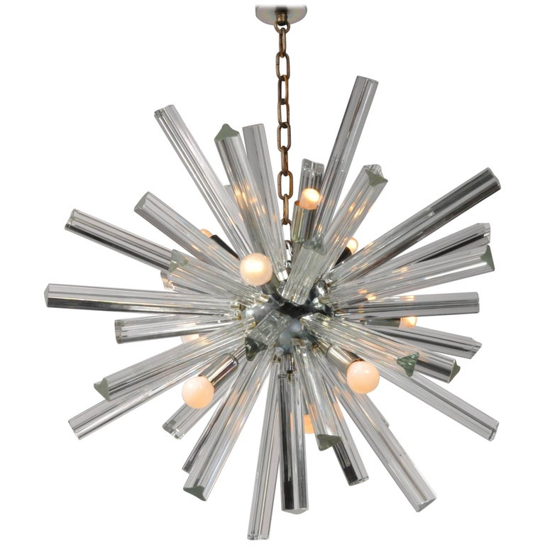 Murano Glass Sputnik Chandelier by Camer, Italy, 1970