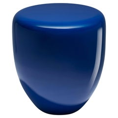 Dot, Side Table or Stool, Persian Blue, by Reda Amalou Design, 21st Century