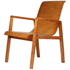 Alvar Aalto Hallway Chair Model No.403 by Finmar