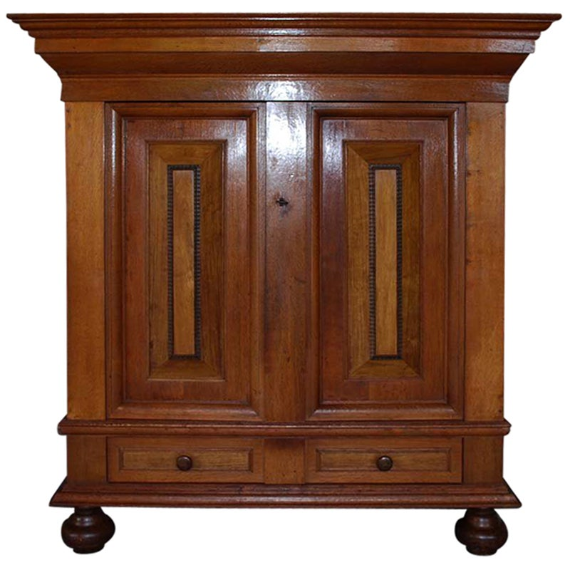 19th Century Dutch Oakwood Cabinet