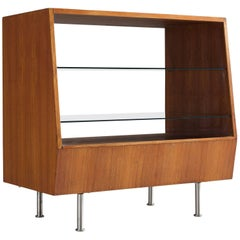 Scandinavian Teak Showcase, 1960s