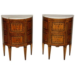 Neoclassical Diminutive Commodes