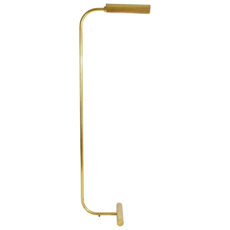 Mid-Century Brass Floor Lamp, Italy, 1960s