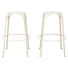 Perforated Metal Stools