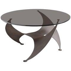 Knut Hesterberg 'Propellor' Corner Table in Bronze