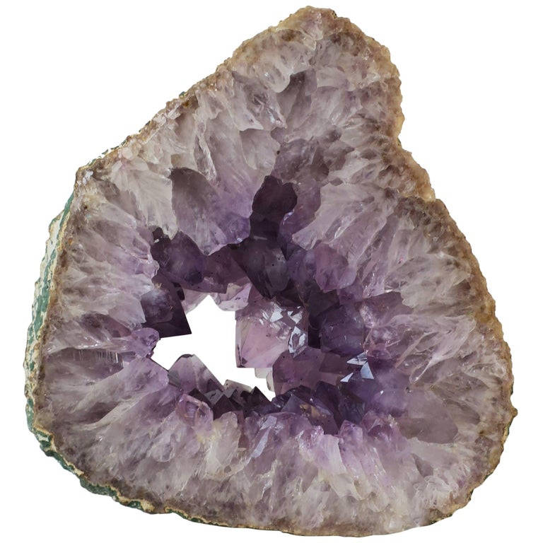 Large Natural Purple Amethyst Crystal Sculpture