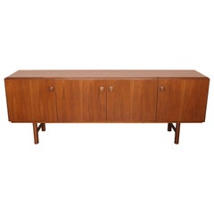 "Swedish Mid-Century Modern Walnut ""624"" Sideboard by AB Carlsson"