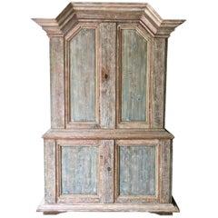 18th Century Gustavian Period Cabinet