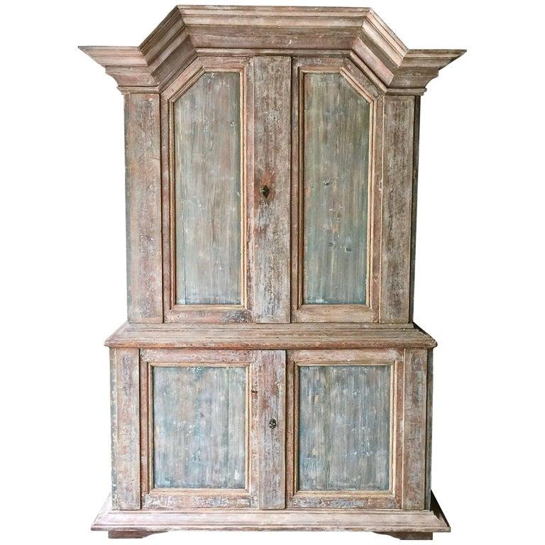18th Century Gustavian Period Cabinet 1