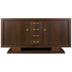 Art Deco Palisander Cabinet by Maxime Old