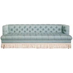 Baxter T-Arm Sofa with Bullion Fringe