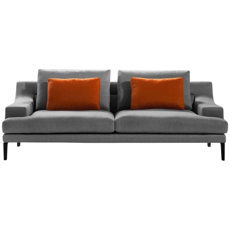 """Megara"" Three-Seat Sofa Designed by Gordon Guillamier for Driade"