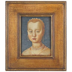 Renaissance Style Portrait of a Young Girl