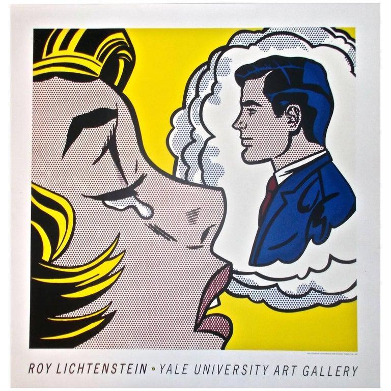 Roy Lichtenstein Pop Art Poster of 1961 Painting \
