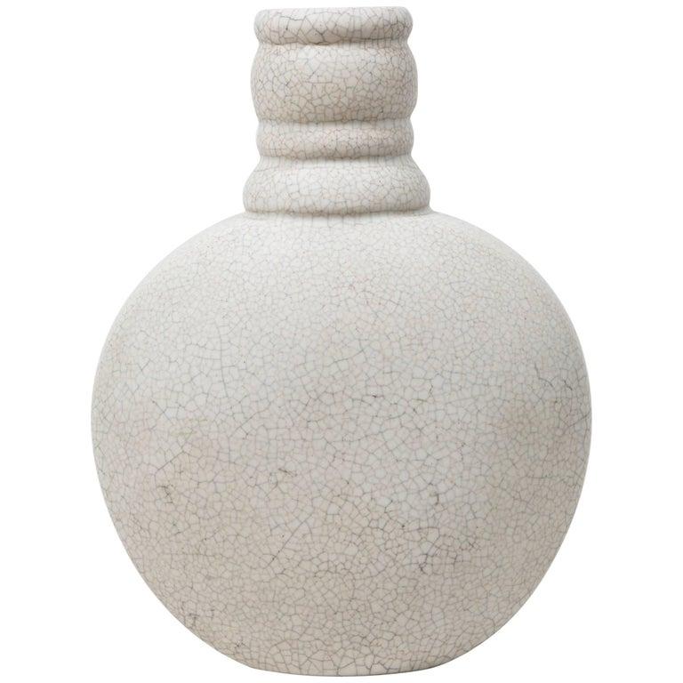 French Art Deco Ceramic Vase by Primavera