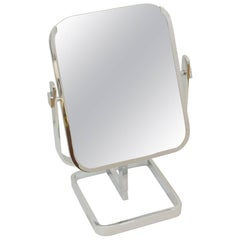 Double Sided Chrome Vanity Mirror