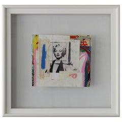Framed Marilyn by Fabrice Dupre