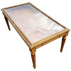 Gilt Display Coffee Table